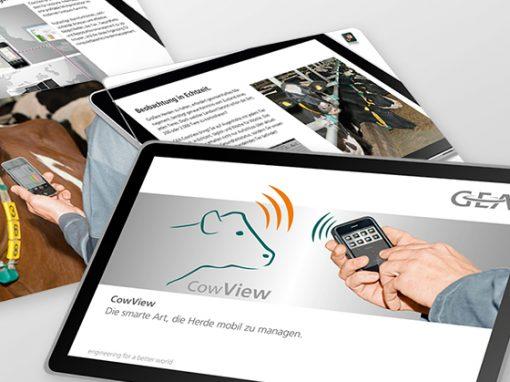 GEA Farm Technologies<br> Cow-View im smarten Format