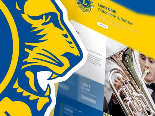 Lions Club<br> Redesign im Responsive Design
